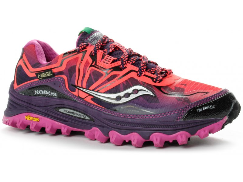 saucony xodus 6 0 gore tex w pas cher chaussures running. Black Bedroom Furniture Sets. Home Design Ideas