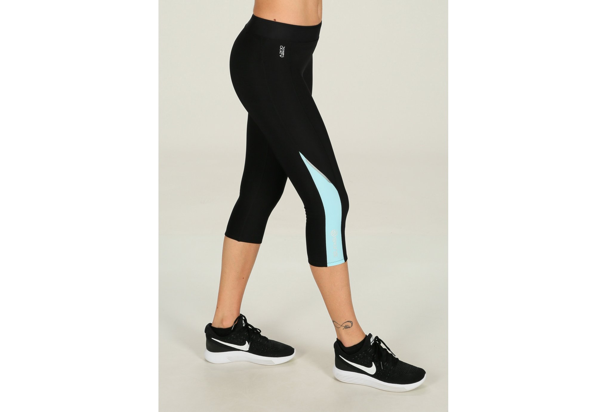 Skins A200 Thermal 3/4 Tights W vêtement running femme