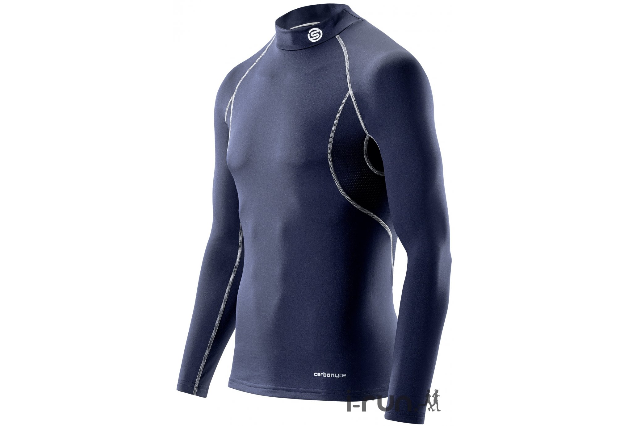 Skins Tee-shirt Carbonyte Thermal Baselayer M vêtement running homme