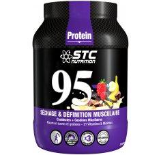 STC Nutrition 95 Pure Premium Protein 750 g - Chocolat