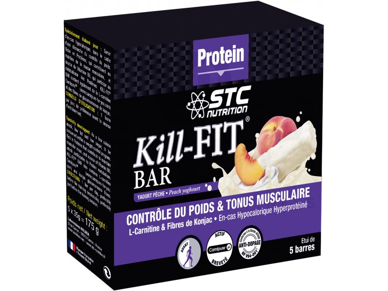 stc nutrition etui 5 barres kill fit bar yaourt p che di t tique du sport running barres stc. Black Bedroom Furniture Sets. Home Design Ideas
