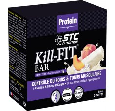 STC Nutrition Etui 5 Barres Kill-Fit Bar Yaourt Pêche