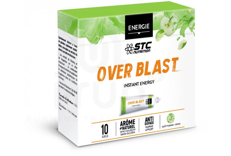 STC Nutrition Etui Gels Over Blast Perf' - Pomme