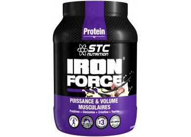 STC Nutrition Iron Force Protein 750 gr - chocolat