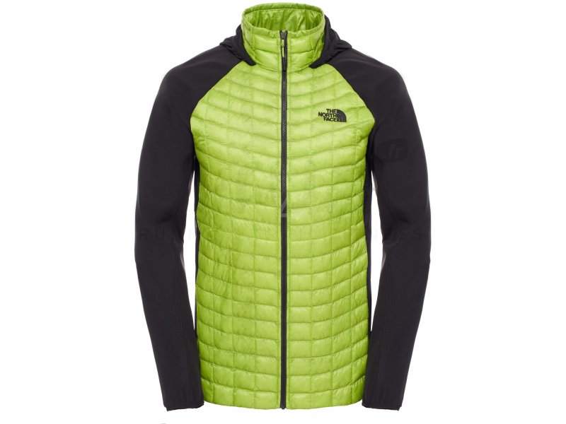 the north face veste thermoball hybrid hoodie m pas cher v tements homme running vestes. Black Bedroom Furniture Sets. Home Design Ideas