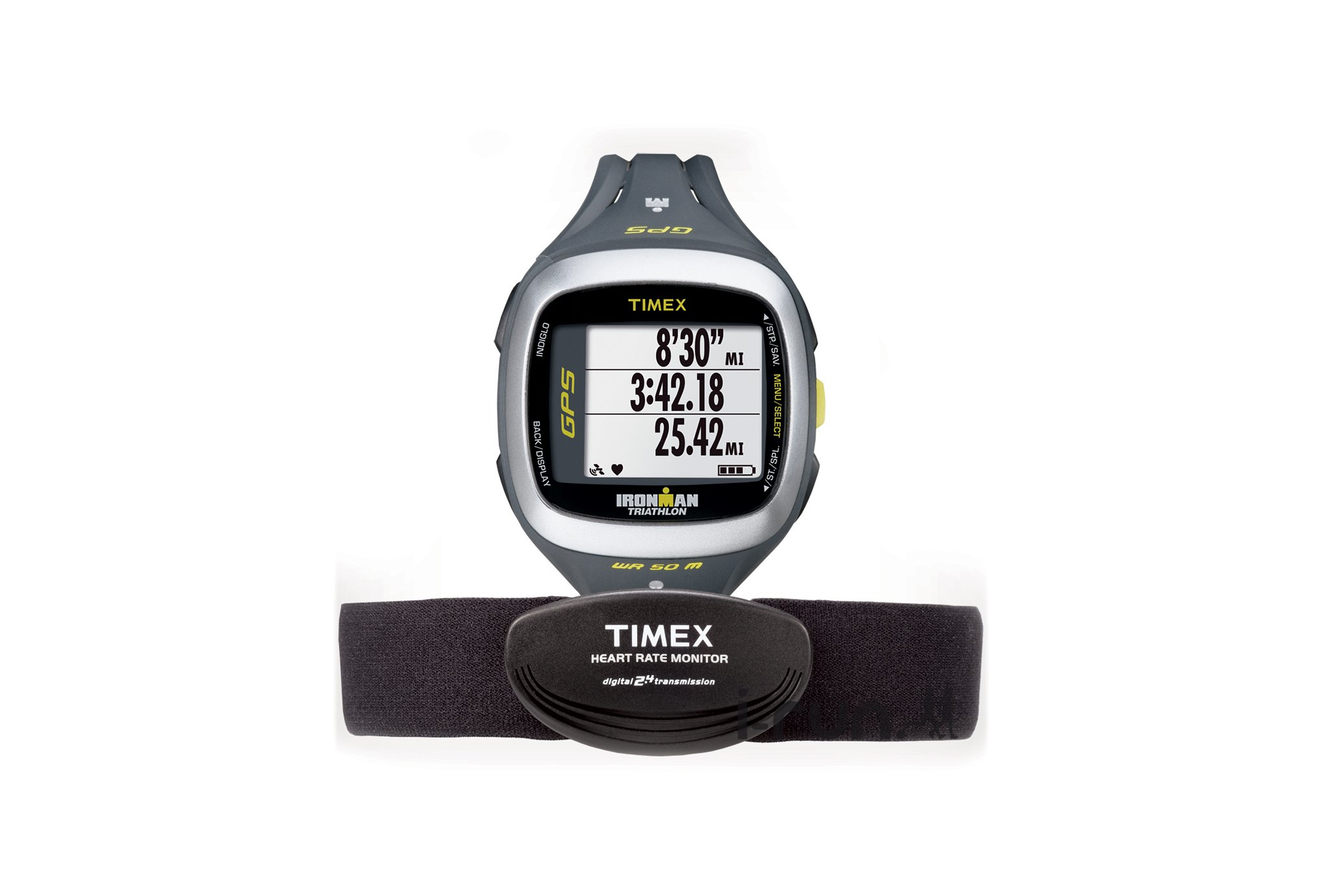 montre ironman gps cardio global trainer timex. Black Bedroom Furniture Sets. Home Design Ideas