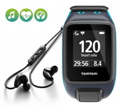 Tomtom Runner 2 Cardio + Music + Casque Bluetooth - Large