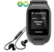Tomtom Runner 2 Cardio + Music - Large + Casque Bluetooth