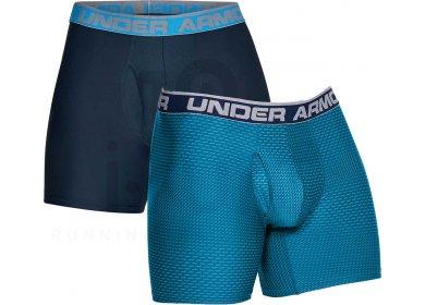 Under Armour Lot 2 Boxers Original 6 Novity M