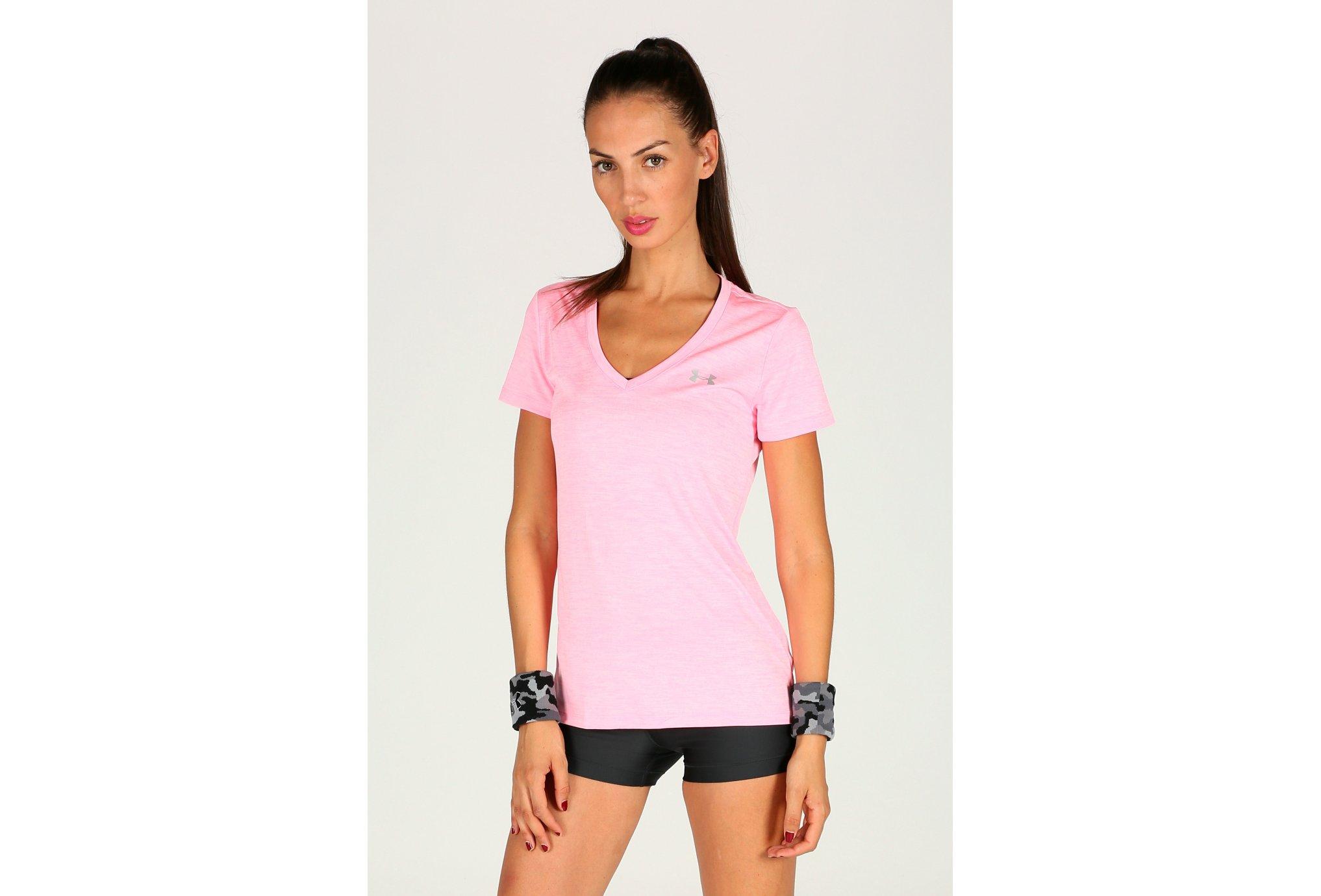 Under Armour Tee-shirt Twist Tech W vêtement running femme