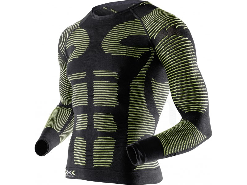 x bionic tee shirt recovery m pas cher v tements homme running compression en promo. Black Bedroom Furniture Sets. Home Design Ideas