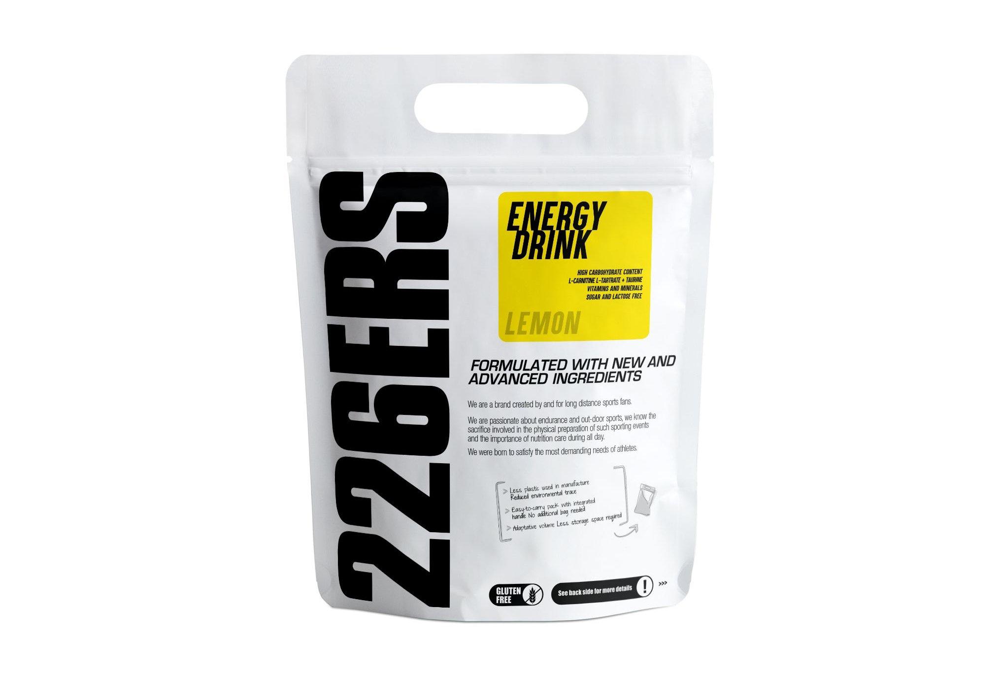 226ers Energy Drink - Citron - 0.5kg Diététique Boissons