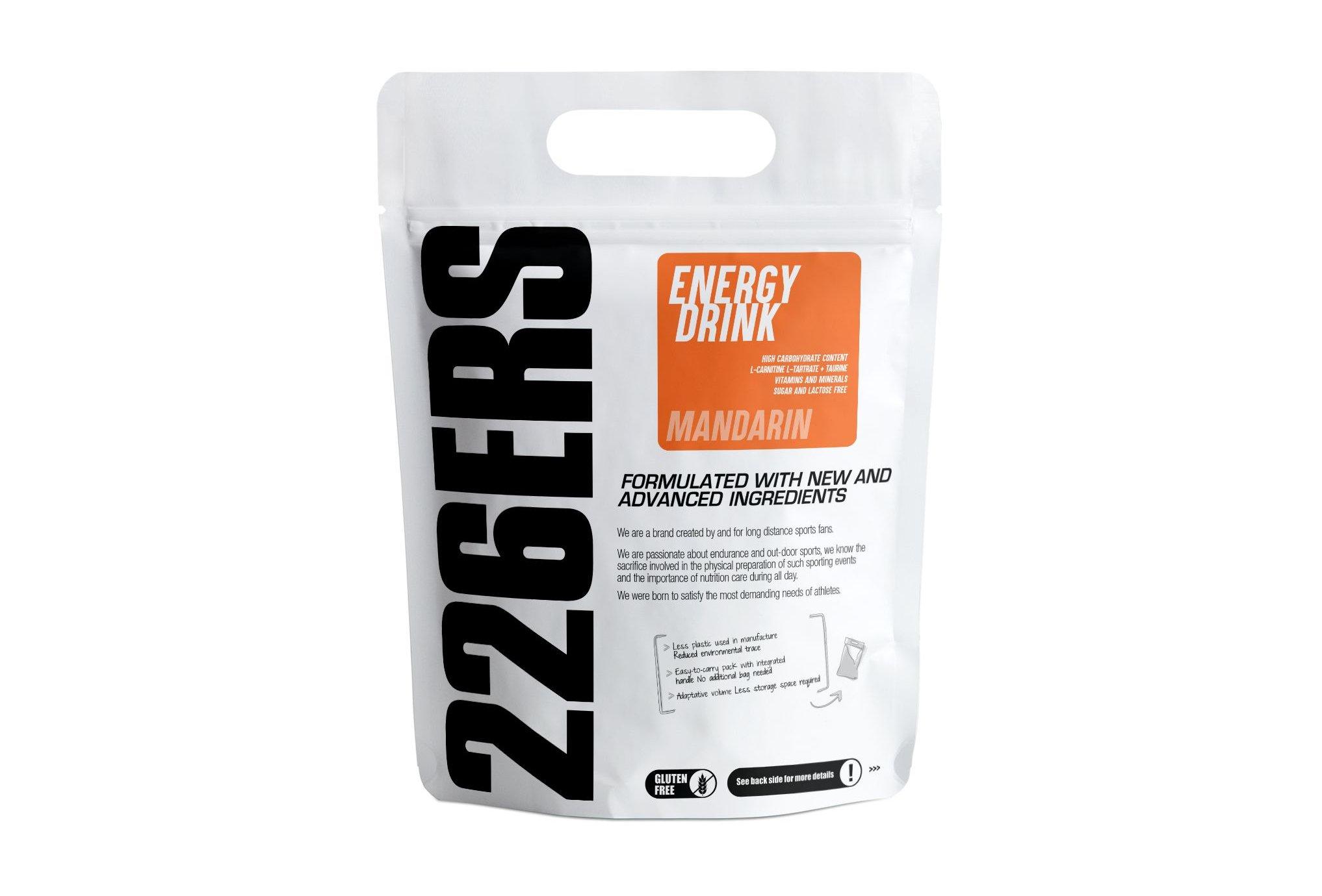 226ers Energy Drink - Mandarine - 0.5kg Diététique Boissons