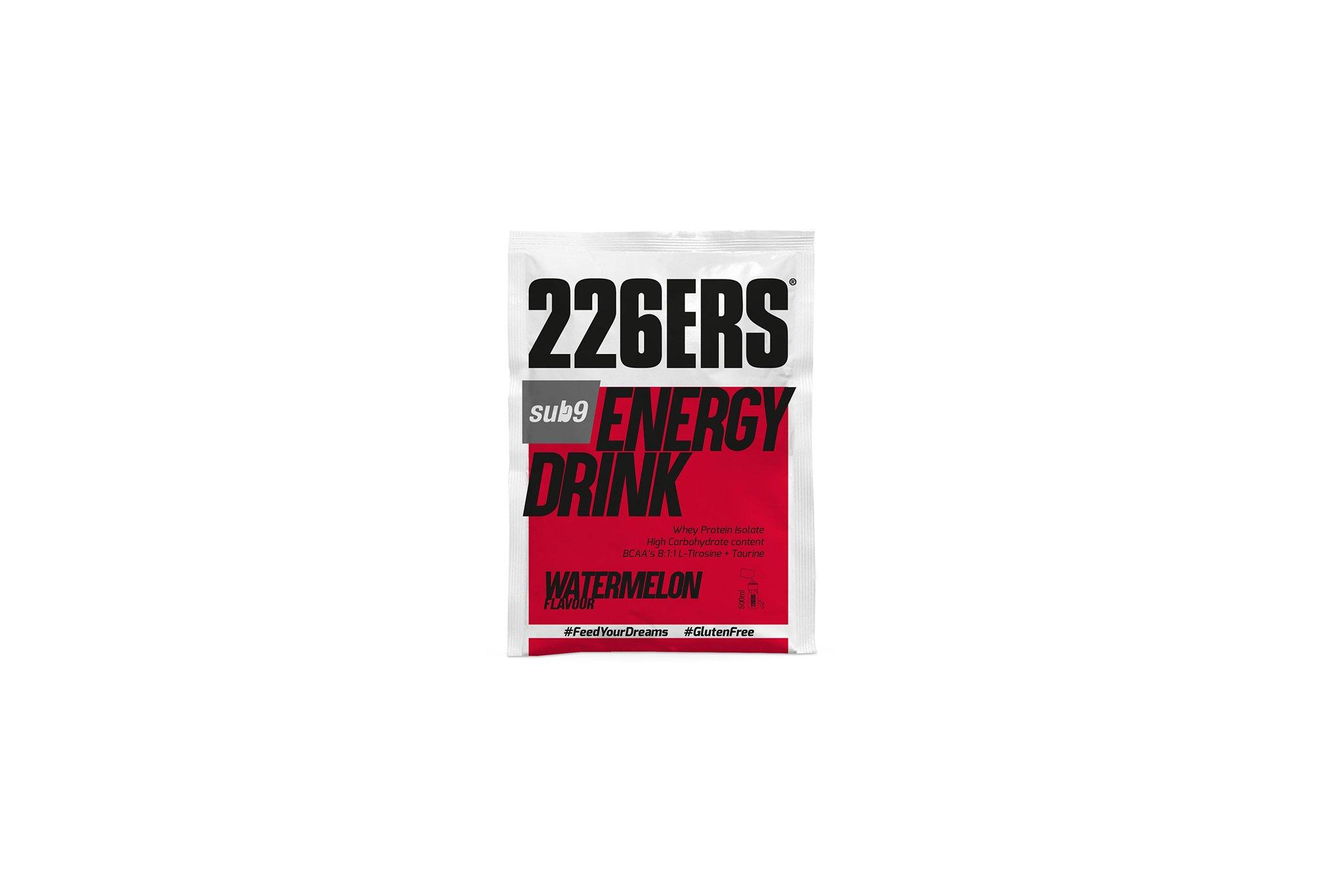226ers Energy Drinks Sub9- Pastèque - 50 g Diététique Boissons