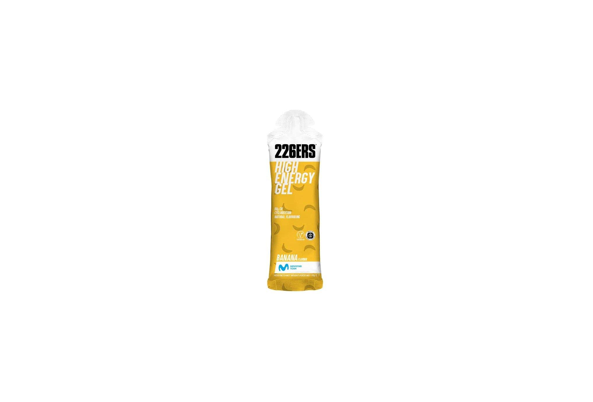 226ers High Energy Gel - Banane Diététique Gels