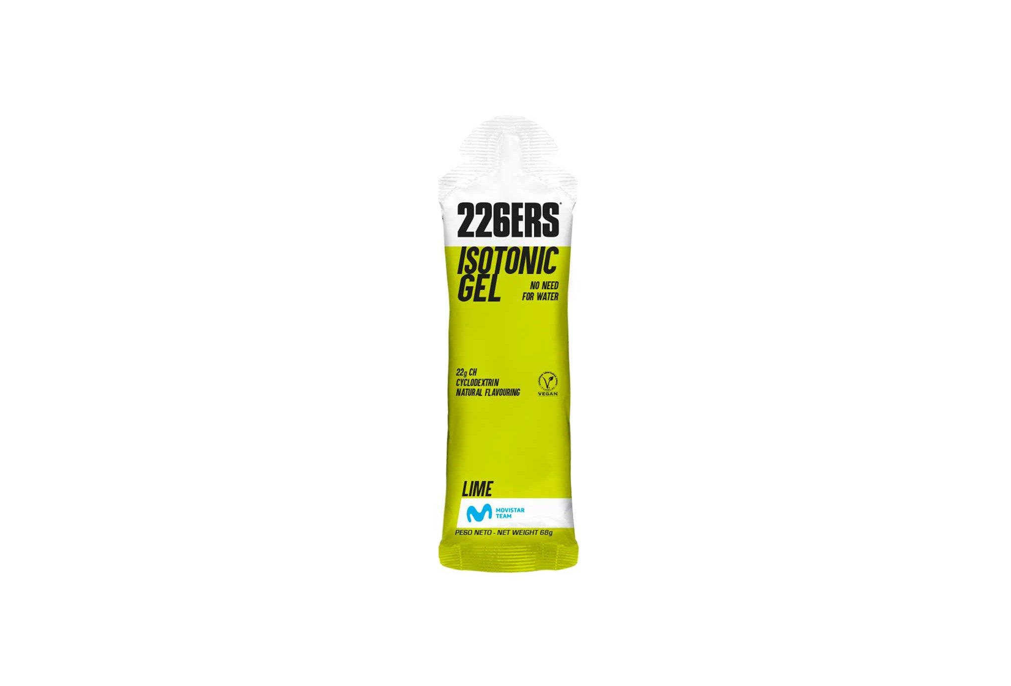 226ers Isotonic Gel - Citron Diététique Gels