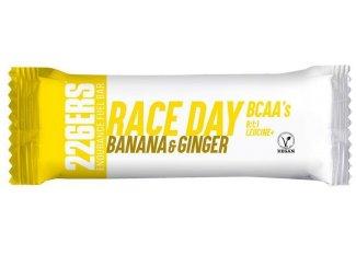 226ers barrita energética 226ers Race Day BCAAs - Plátano y jengibre