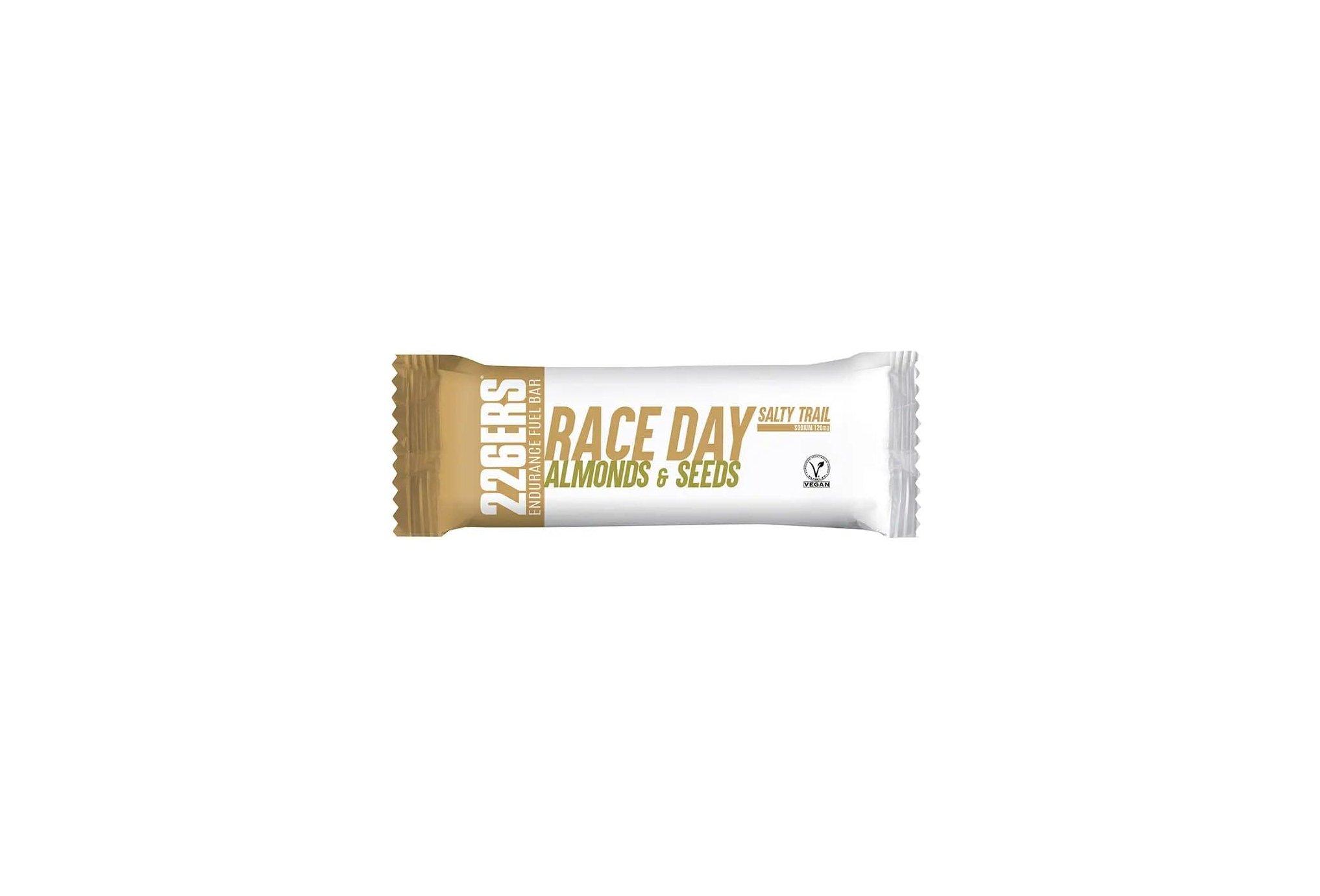 226ers Race Day Salty Trail - Amandes et Graines Diététique Barres