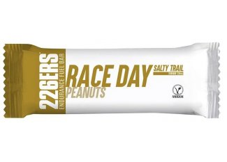 226ers barrita energética Race Day Salty Trail Cacahuetes