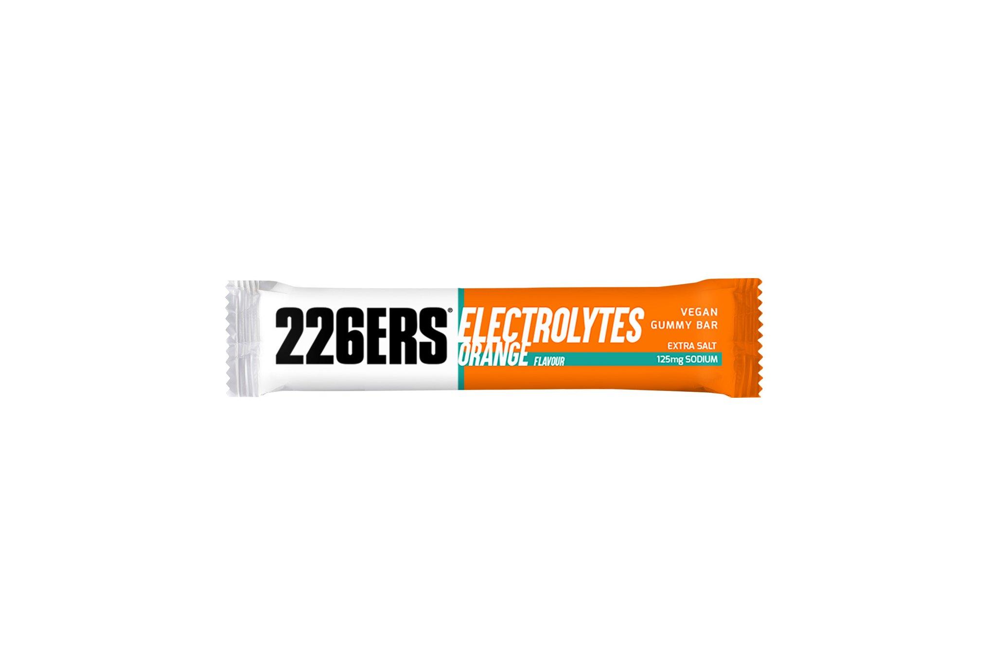 226ers Vegan Gummies Électrolytes - Orange Diététique Barres