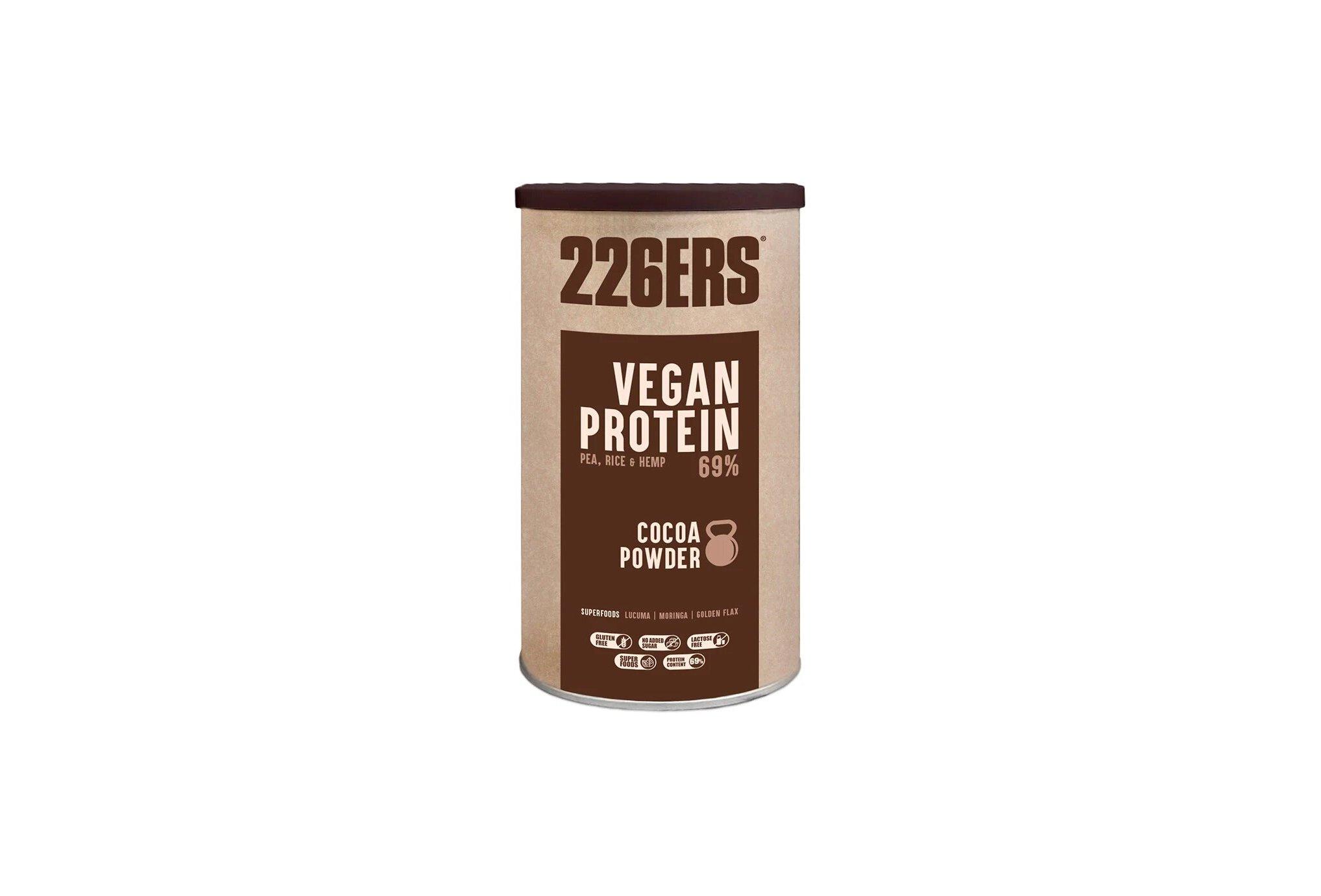 226ers Vegan Protein 700 g - Chocolat Diététique Protéines / récupération