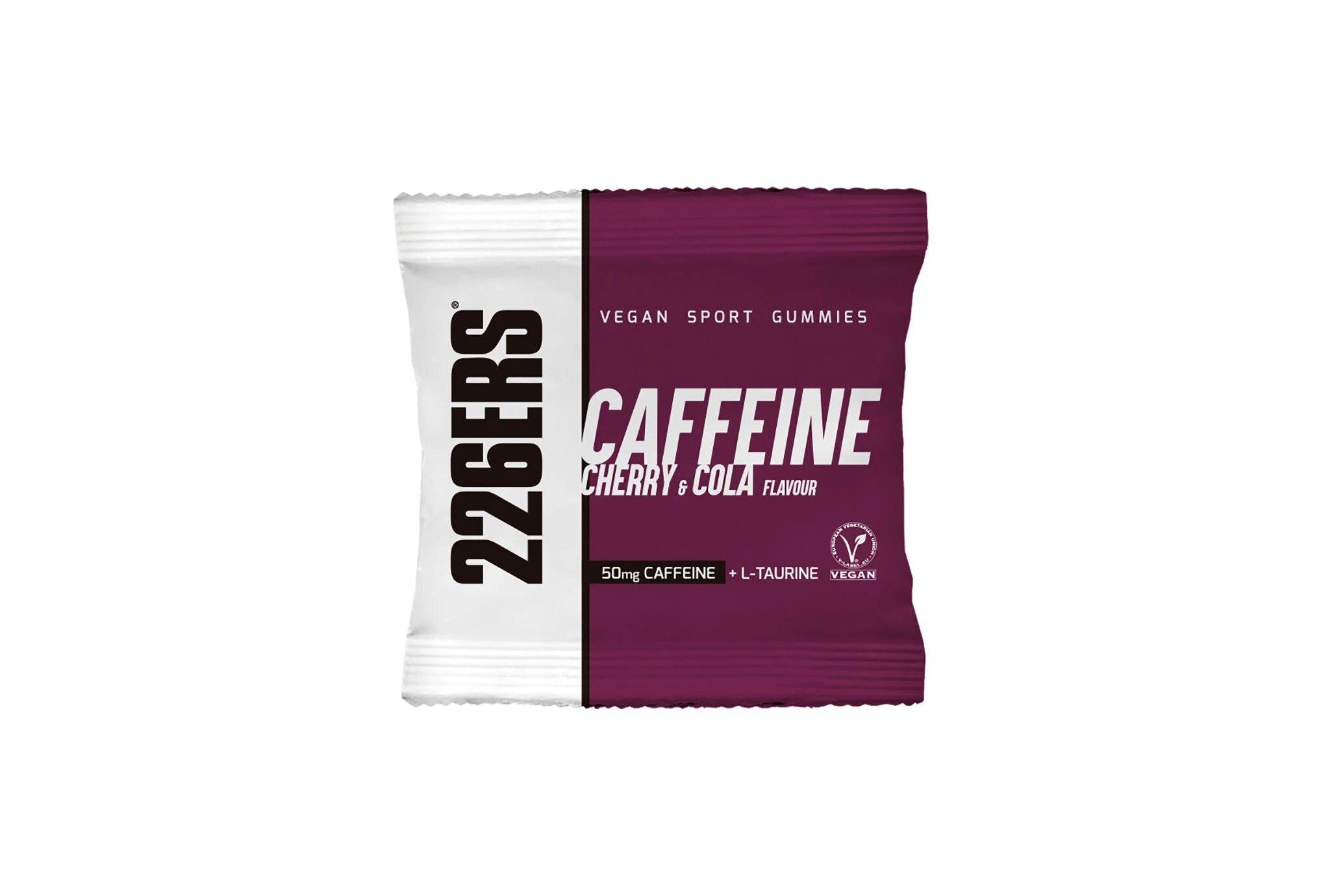 226ers Vegan Sport Gummies BCAAs - Cerise et cola Diététique Barres