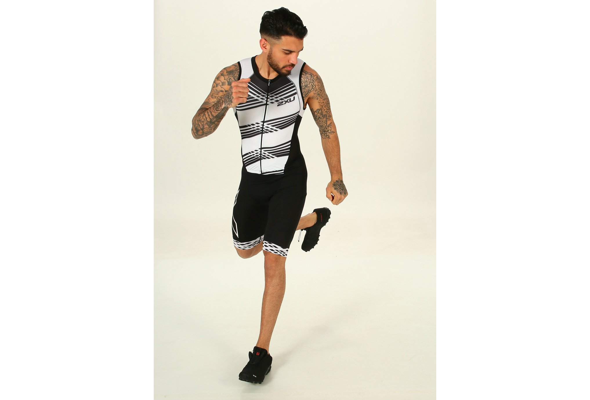 2XU Compression Full Zip Trisuit M vêtement running homme