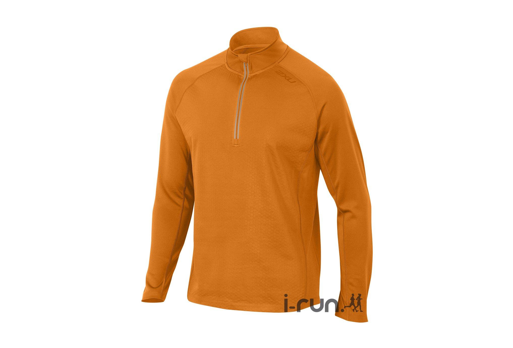 2xu Maillot ignition 1/4 zip m vêtement running homme