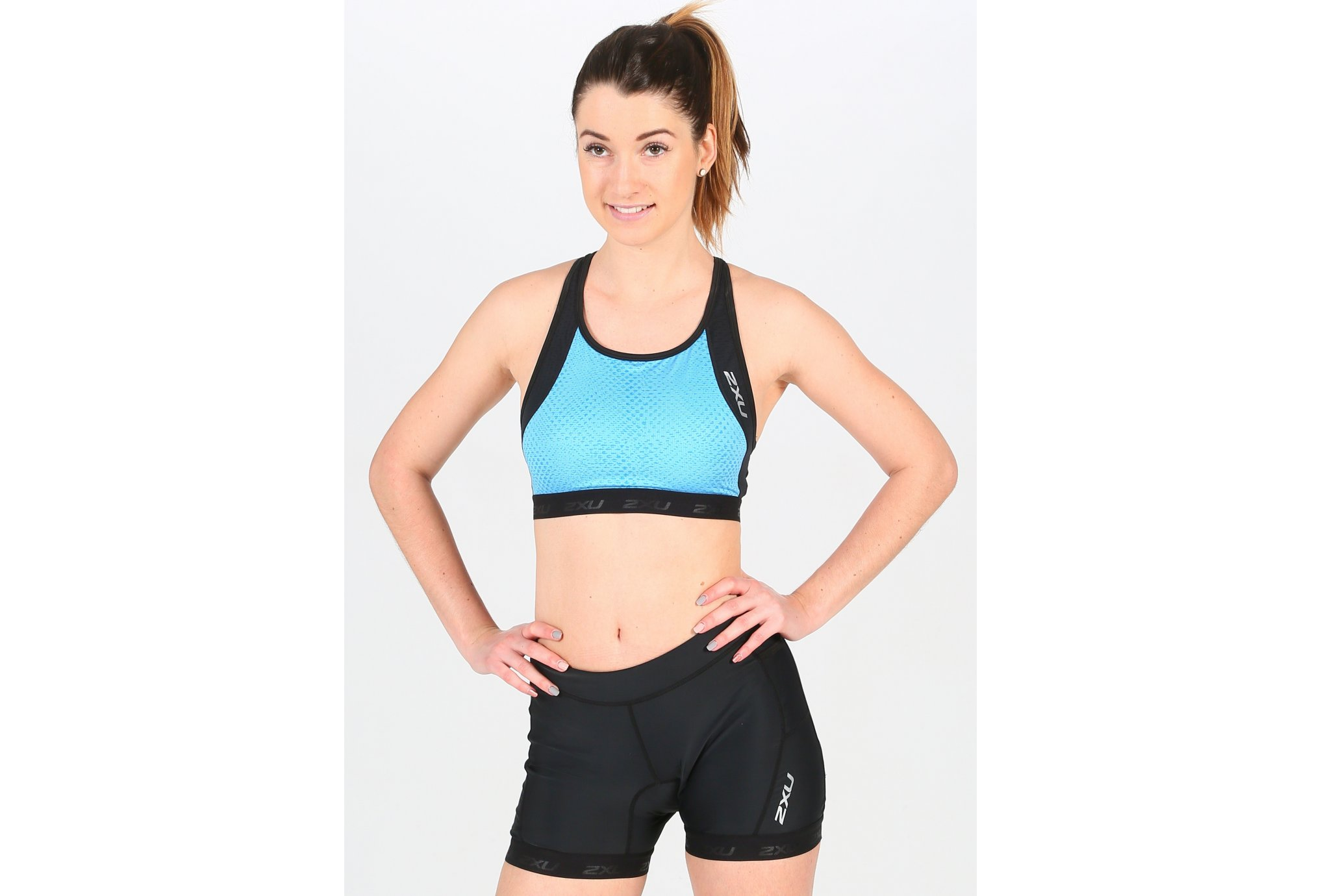 2XU Perform Tri Crop W vêtement running femme
