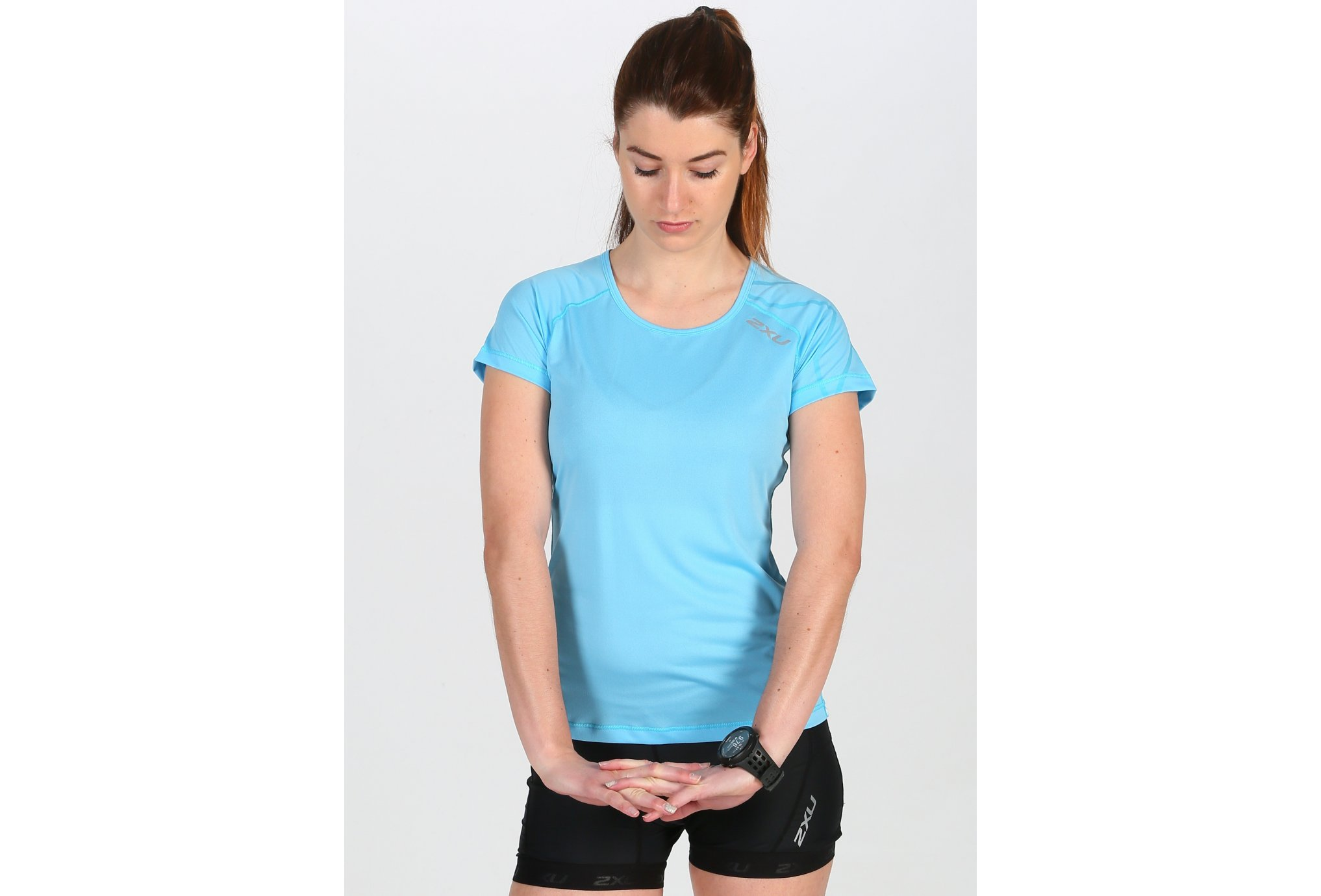 2XU Tee-Shirt Ghost Top W Diététique Vêtements femme