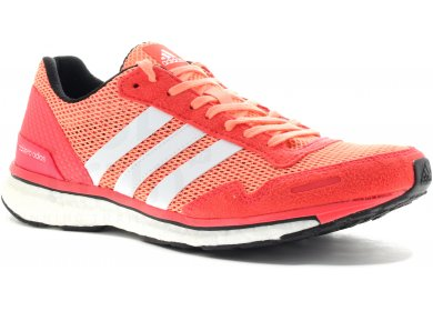 Chaussures Adidas Adizero rouges femme 5CuLy8SoxL