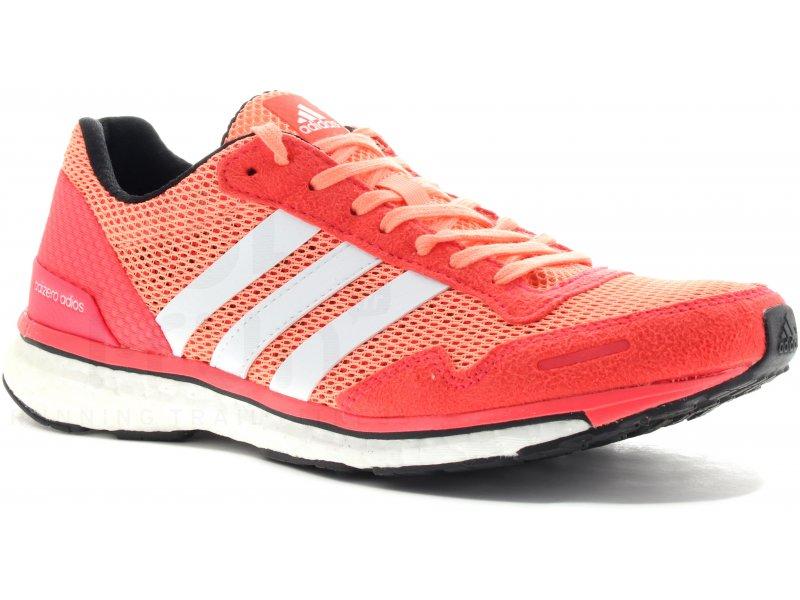 adidas adizero adios Boost 3 W - Chaussures running femme Route