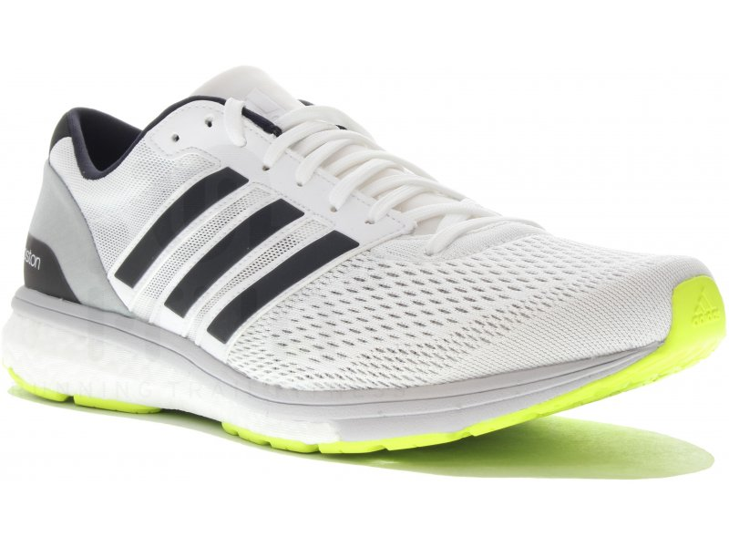online store d7abf f160c adidas adizero Boston Boost 6 M homme Blanc pas cher