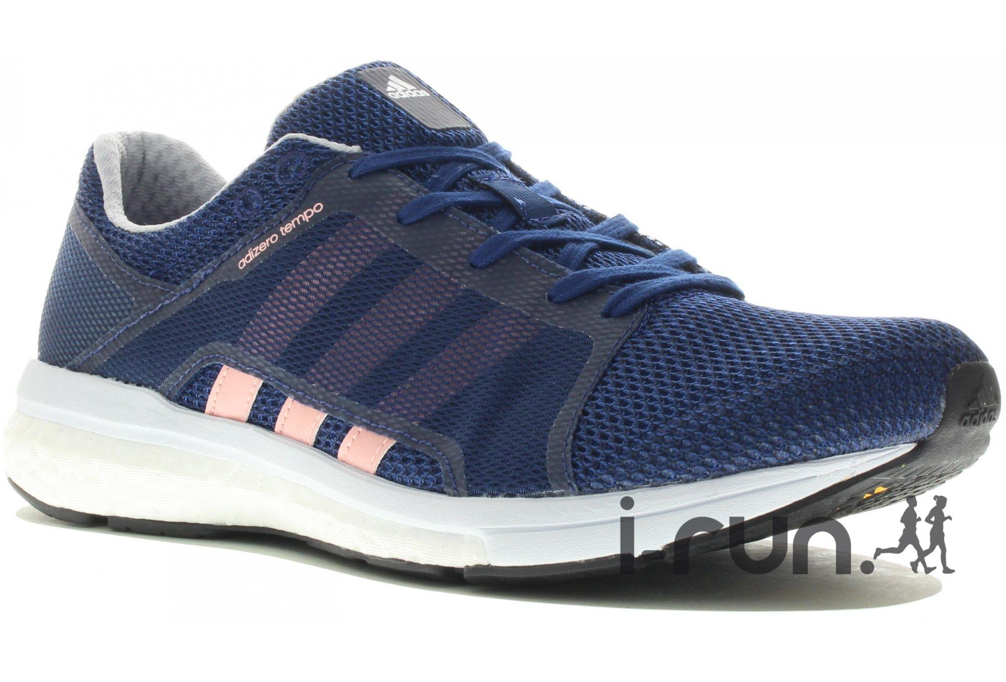 Adidas adizero tempo 8 w chaussures running femme chez IRun
