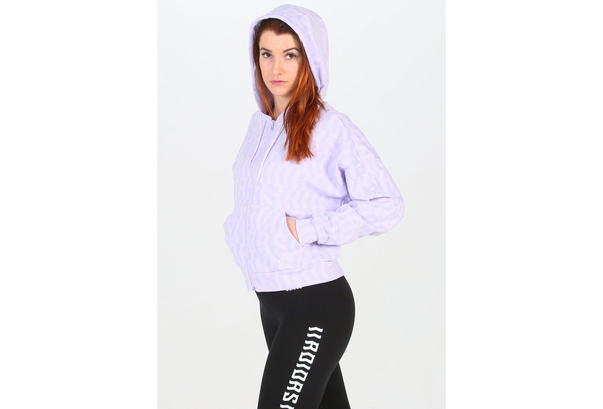 adidas Allover Print W vêtement running femme