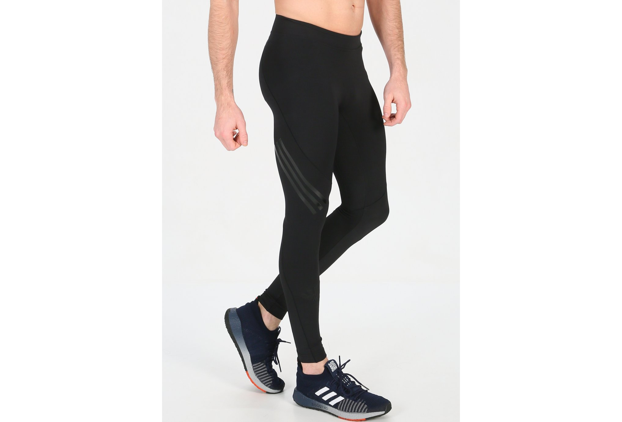 Adidas Alphaskin tech 3 stripes m vêtement running homme
