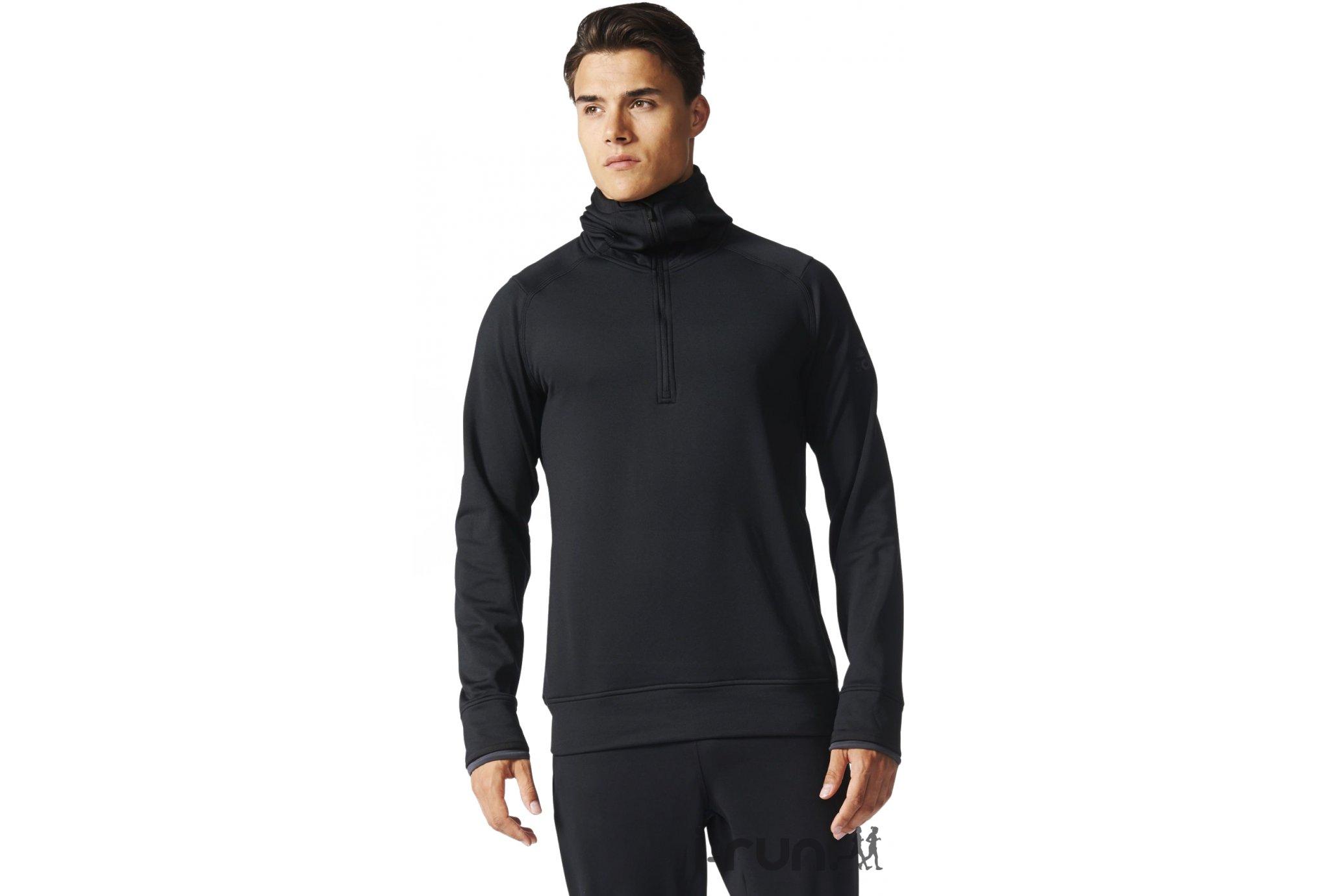 Adidas Climaheat hz hoodie m diététique vêtements homme