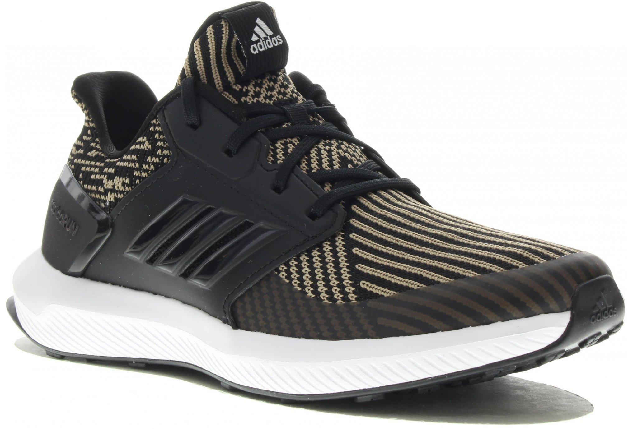 online store 66a2c 8bb25 adidas RapidaRun Knit Fille Chaussures running femme