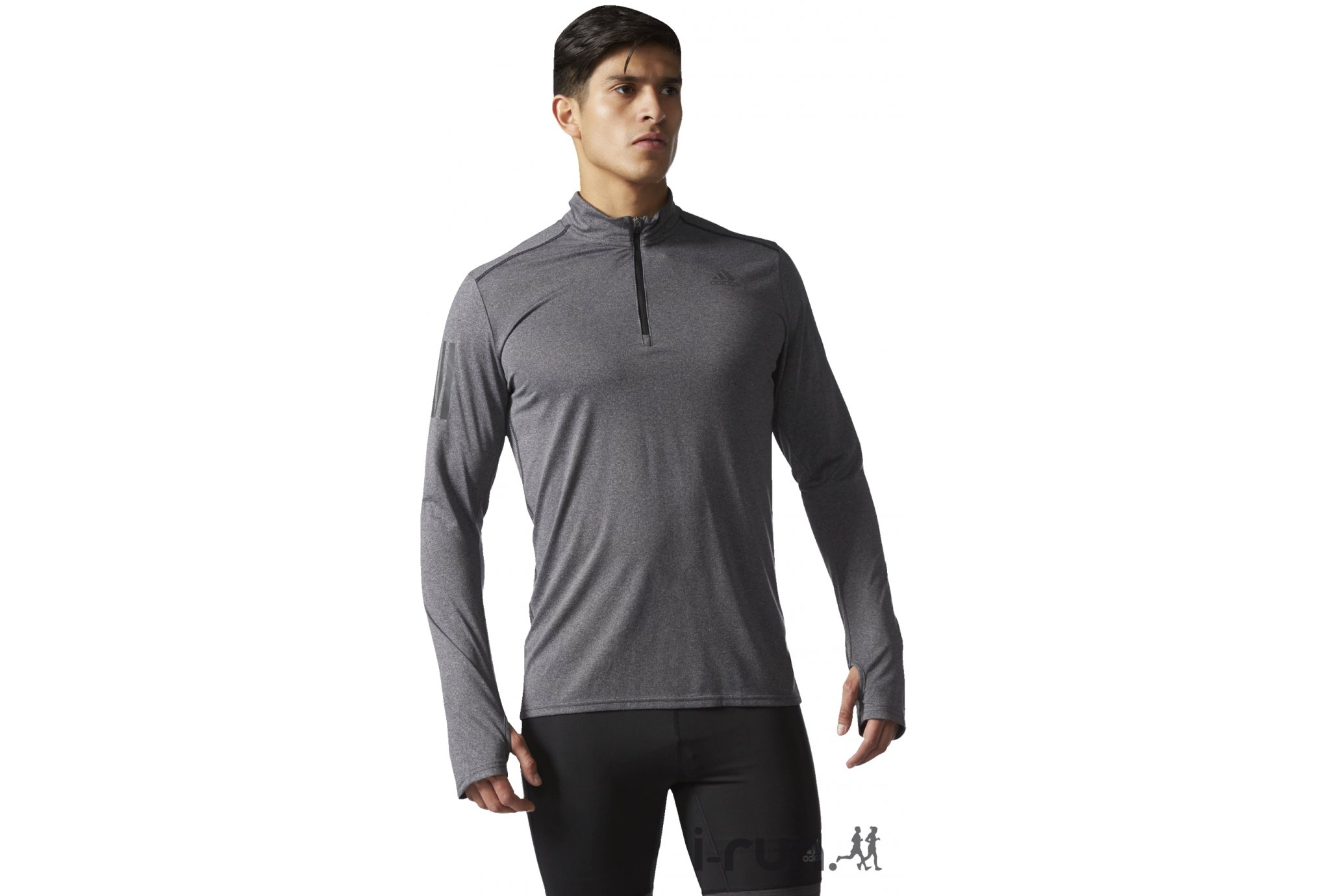 Adidas Response 1/2 zip m vêtement running homme