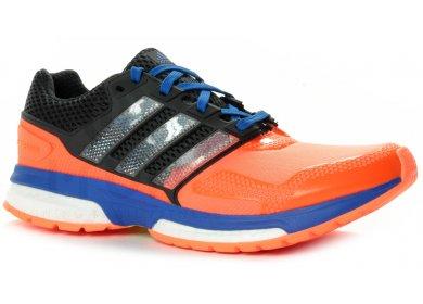 91294684983 adidas Response Boost 2 Techfit M homme Orange pas cher