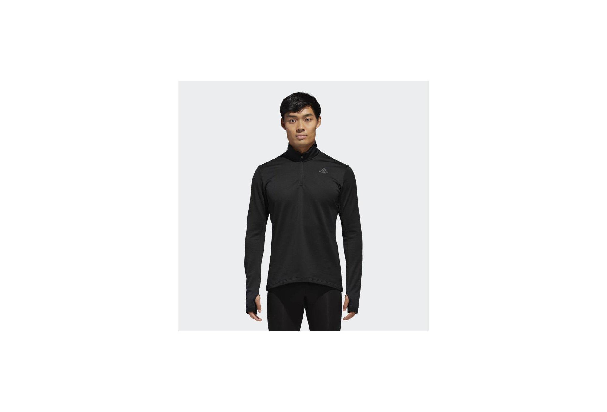 Adidas Response climawarm 1/4 zip m vêtement running homme