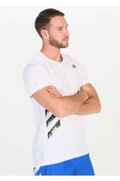 adidas camiseta manga corta Run It 3-Stripes PB