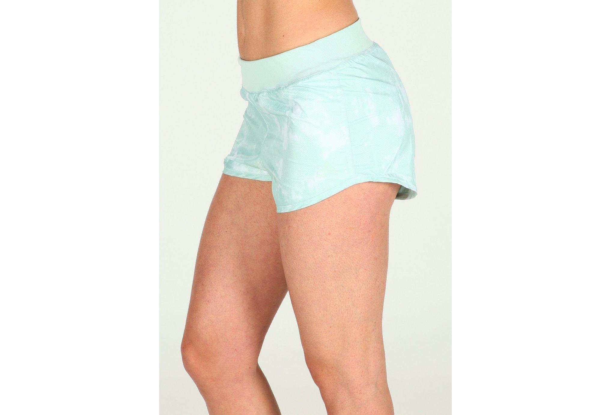 adidas Short Reversible Run W Diététique Vêtements femme