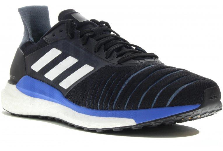 Zapatillas adidas Solar Glide azul blanco negro Zapatillas