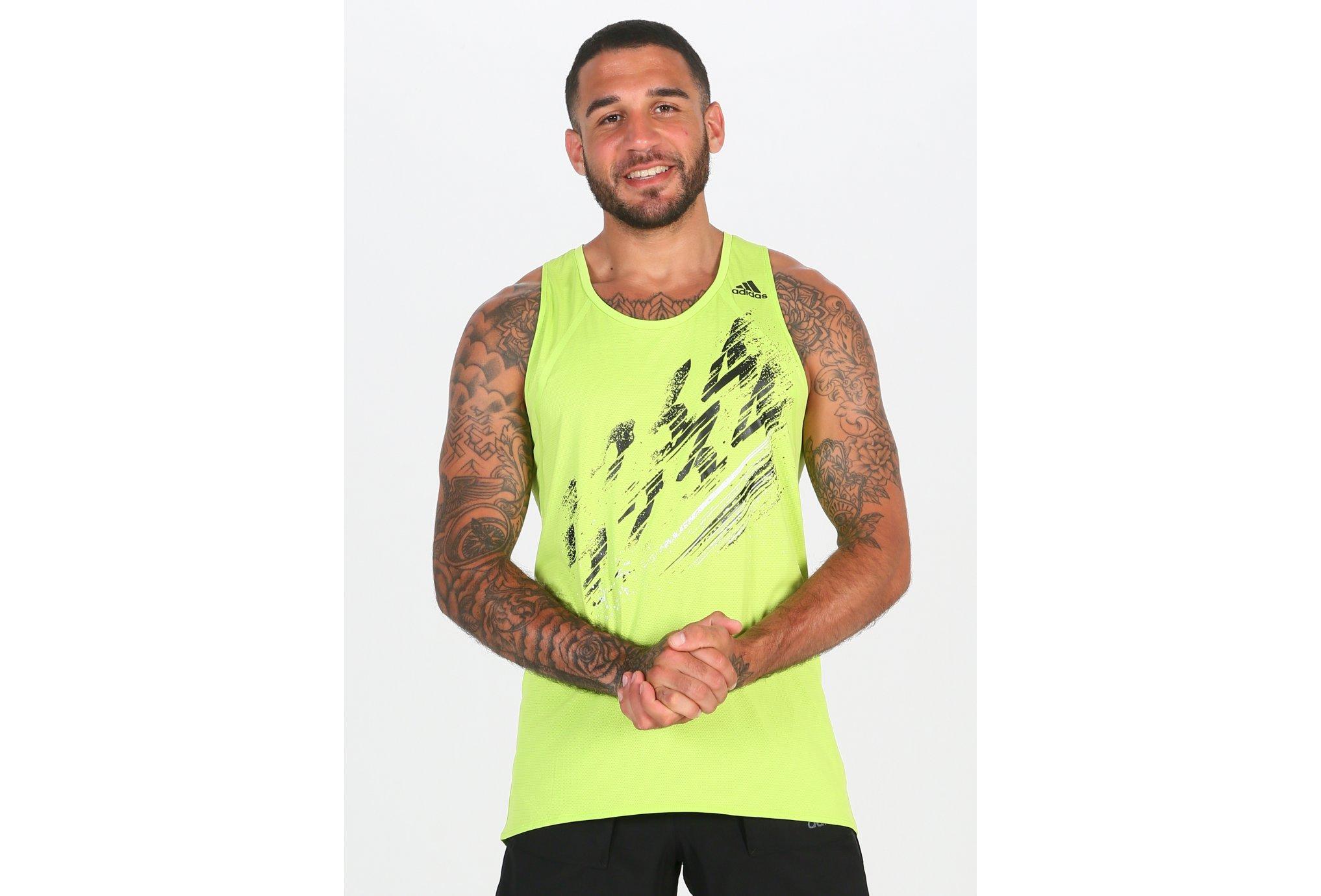 adidas Speed M Diététique Vêtements homme