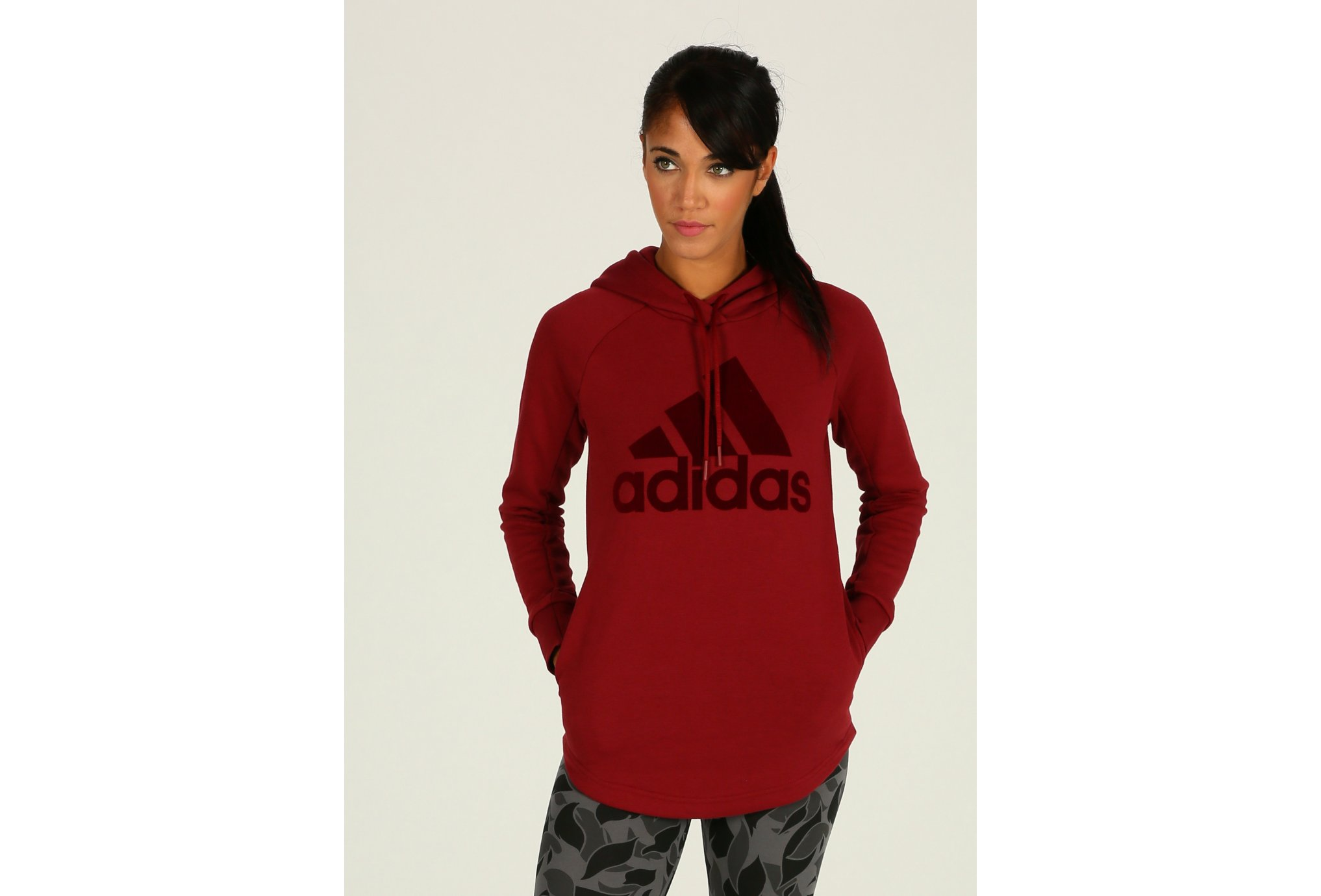 Adidas Sweat oh hoodie w vêtement running femme