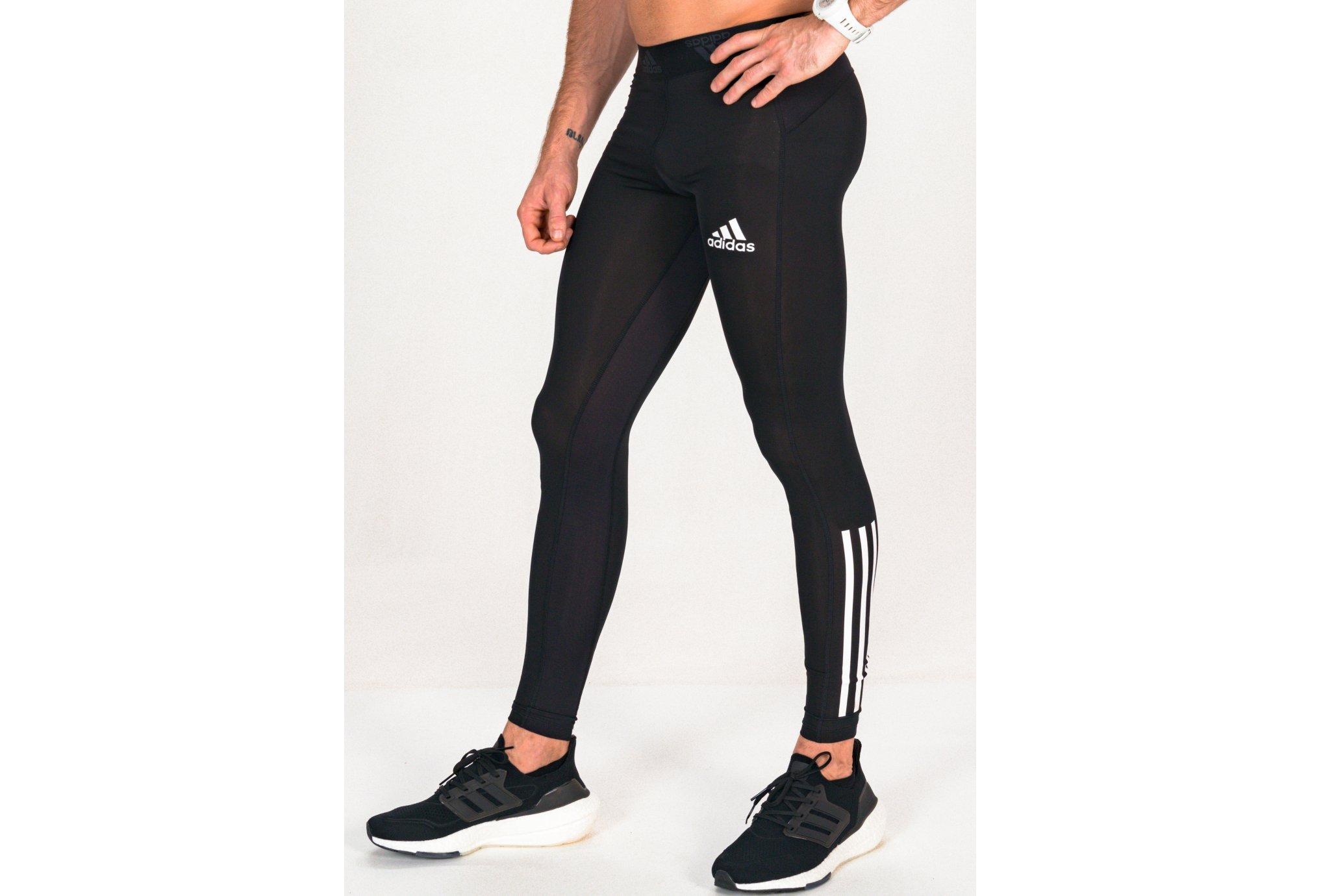 adidas Techfit 3-Stripes Primegreen M vêtement running homme