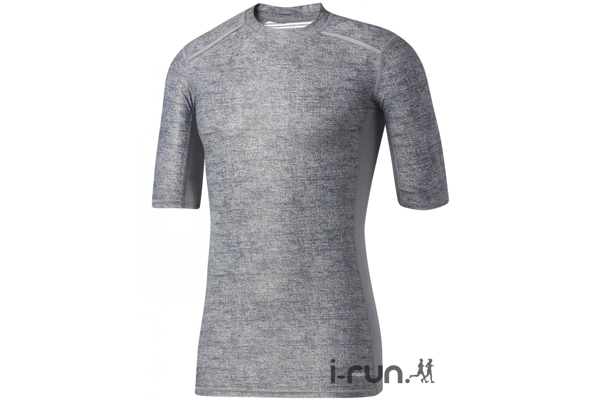Adidas Tee-Shirt 3/4 techfit chill m vêtement running homme