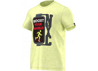 Tee Shirt Adidas New Boost M York KJTl1F3cu