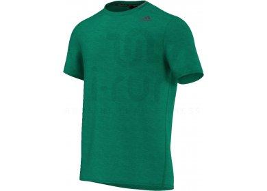 69dcb60e0460d adidas Tee-shirt Supernova M homme Vert pas cher
